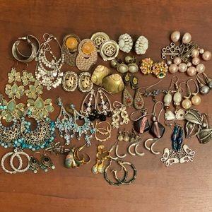 Vintage & Modern Earring Lot